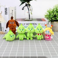 ingrosso bambola verde-Peluche geek per bambole natalizie Greenwich Green Mobster regalo di compleanno Cindy doll dog Max doll pendant