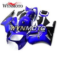 kawasaki zx12r carenagens azul venda por atacado-Gloss Pure Blue Motocicleta Carenagens Completas Para Kawasaki ZX12R ZX-12R 2000 2001 NINJA ZX-12R 00 01 Injeção ABS Plástico Cowlings Carroçaria Novo