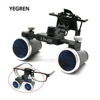 Wholesale coated binoculars for sale - Group buy 2 X X Dental Loupes Binocular Magnifying Glass Galilean Medical Magnifier Coated Optical Lens with Clip f Dentist Surgical T200521