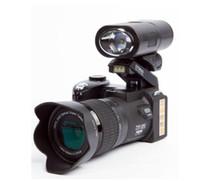 mega zoom venda por atacado-2019 Novo Profissional Atualizado Câmera Digital Mega Pixels HD Protax POLO SLR D7300 com Lente Intercambiável