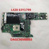 Wholesale lenovo laptop motherboards resale online - FOR L420 Laptop motherboard Y1799 DAGC9EMB8E0 DDR3 full Tested