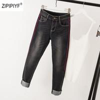 krawatte jeans für frauen großhandel-Kleidung Jeans Hosen Für Frauen Kleidung Streetwear Hosen Tie Dye Denim Lange Gewaschene Jeans Neue Ankunft Jeans