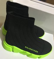 meninos botas verdes venda por atacado-Moda anos velho bebés e meninas sapatos confortáveis Curto Botas sola macia Crianças Esportes Verde respirável Moda Non-Slip
