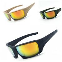 Wholesale army ess sunglasses resale online - ESS Rollbar Tactical Sunglasses Army Fans Riding Night Vision Windbreak Eyewear Polarized Light Bulletproof Eyeglass Factory Direct bl I1