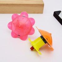 flaş ışık eğirme oyuncak toptan satış-Sıcak LED yanıp sönen Light up yeni stil yaratıcılık çin topspeed döndürmek için ışık dönen top çocuk oyuncak