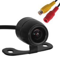 câmera de carro ccd venda por atacado-E306 18mm Cor CMOS / CCD À Prova D 'Água Veículo Auto Câmera de visão traseira Retrovisor Do Carro Câmera Reversa para Estacionamento de Backup de Segurança