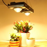 éclairage à spectre complet achat en gros de-DHL CREE CXB3590 COB LED Grow Light Full Spectrum 200W Citizen LED lampe pour plante à pousser Tente intérieur hydroponique usine Greenhouses