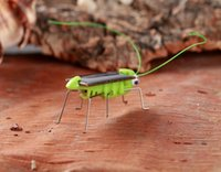 Wholesale insects robots for sale - Group buy New Solar Grasshopper Simulation insect creative trick science and education Enlightenment puzzle children Toy Factory Sales