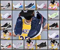 homens sapatos de ferro venda por atacado-2019 Nova 270 Max Almofada Sapatilha Sapatos Casuais Mulher 27c Trainer Off Road Ferro Estrela Sprite Tomate Dos Homens 270 S Tamanho 36-45 Sneakers