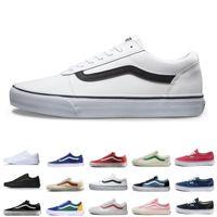 Wholesale clubbing boots resale online - 2019New Vans old skool sk8 fear of god hi men women canvas sneakers black white YACHT CLUB MARSHMALLOW fashion skate shoes