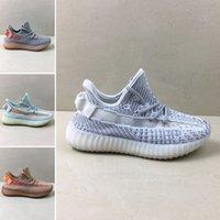 zapatos de niño juvenil talla 12 al por mayor-Adidas Yeezy 350 V2 Venta caliente 2018 Infant Baby Boy Girl Kids Youth Children zapatos de alta calidad Zapatos deportivos Zapatillas clásicas tamaño 28-35