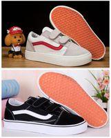 ingrosso ragazzi vecchio stile-Scarpe per bambini REVENGE X STORM Old Skool Ragazzi Ragazze Classic Kids Scarpe sportive da corsa moda Sneakers da bambino 28-35