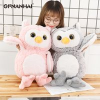 Wholesale stuff toy owl resale online - 1pc cm Cute Owl Plush Toys Lovely Baby Kids Appease Animal Owl Pillow Dolls Stuffed Birthday Christmas Presents T191019