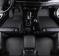 piso del coche de cuero al por mayor-Para Cadillac SRX 2010-2016 de cuero del coche a prueba de agua tapetes de ratones