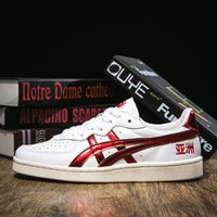 Wholesale korean sneakers shoes resale online - Onitsuka Tiger Skateboarding Shoes Asics Men Women Athletic Shoes Chinese Japanese Korean Three Versions Sneakers EUR