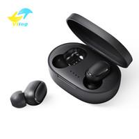Wholesale waterproof ear headphones resale online - Bluetooth Earphone TWS A6S Headphone Bluetooth Wireless Earphones Life Waterproof Bluetooth Headset with Mic for all Smart Phone