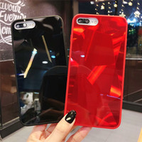 Wholesale iphone shell diamond red online – custom For IPhone Plus Diamond Jelly Mobile Shell XS Max XR All inclusive Laser Diamond Drop For IPhone Pro Max