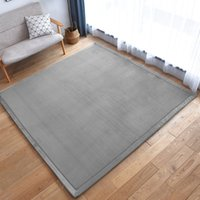 janela resistente venda por atacado-Espessura de coral tapete de lã tapete de tatami quarto sala bay window carpet bebê inquebrável rastejando esteira tapete quarto cobertor