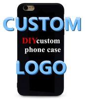 ingrosso cassa del telefono della galassia diy-Custodie personalizzate per case con logo logo per 6 7 xr xs max Custodia DIY per Samsung Galaxy S6 S7 Edge S8 S9 Plus