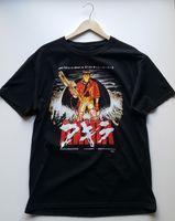 eski tişört hip hop toptan satış-AKIRA T-shirt Eski Nadir Lisanslı Deadstock Screenprinted Tees Özel Forması T Gömlek Hoodie Hip Hop T-shirt
