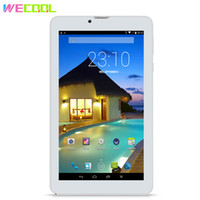 Wholesale tablet pc 3g gsm wcdma resale online - WeCool inch Android G Phone Call Tablet PC with IPS X600 Resolution Quad Core Dual SIM GSM WCDMA GPS FM Phablet Color