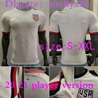 Wholesale usa soccer uniforms resale online - player version America Home away USA Soccer Jersey copa america DEMPSEY BRADLEY ALTIDORE WOOD men Football SHIRT Uniform Jersey
