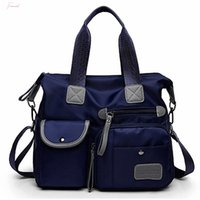 Wholesale waterproof fashion tote for sale - Group buy New Ladies Fashion Waterproof Oxford Tote Bag Casual Nylon Shoulder Bag Mummy Bag Large Capacity Canvas