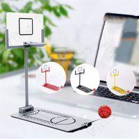 basketball schuss spielzeug großhandel-Hottest Mini Desktop Klapp Basketball-Maschine Dekompression Schießmaschine kreativen Desktop Mikro Dekompressionspielwaren Kinder Spielzeug