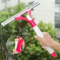 digitação de janelas venda por atacado-Atacado-1PC Tipo de Spray de Limpeza Escova de Vidro Da Janela Limpador Limpo Barbeador Ferramenta Janela Do Carro Mais Limpo Plásticos