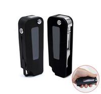 ingrosso penne auto-Chiave per batteria 350mAh Vape Mod Batteria a tensione variabile per auto nero argento per 510 filo Vape Pen