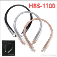 Wholesale hbs neckband headset for sale – best HBS Wireless Bluetooth Earphone TONE HBS CSR Neckband Music Sport Headphone Headsets For iPhone Samsung HBS1100 HBS MQ10
