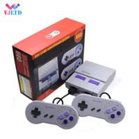 sistemas de juegos de mano al por mayor-Super Classic SFC TV Mini consolas de juegos portátiles 2018 El más nuevo sistema de entretenimiento para 660 SFC NES SNES Consola de juegos