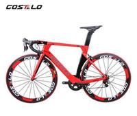 ingrosso moto 18 pollici-Nuova tecnologia AEROMACHINE MONOCOQUE monopezzo Full Carbon Road Completa bici da strada Telaio ruote R8000 Groupset