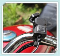 Wholesale yamaha adapters resale online - Motorcycle accessories mobile phone charger waterproof adapter for YAMAHA R6S USA BT1100 Bulldog XJR400 RACER R
