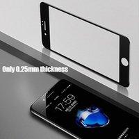 iphone temperli gözlük toptan satış-3D Tam Kapak koruyucu gözlük Için iPhone 6 s 8 7 Artı Temperli Cam iPhone Için X i8 i7 i6 artı i6plus Ekran Koruyucu Film WL69