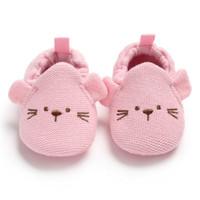 sapatas de passeio das meninas primeiras venda por atacado-Sapatas de bebê Primavera Bonito Do Bebê Da Menina do Menino Macio Solado Sapatos Dos Desenhos Animados Infantil Vestido de Caminhada Cradle Shoe Primeiro Walkers