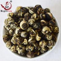dragão chinês verde venda por atacado-[mcgretea] 2019 Promoção! 250g de jasmim flor chá premium jasmine dragon pérola chá cuidados de saúde verde chá chinês por atacado