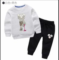 Wholesale butterfly flower clothing resale online - HOT SELL fashion classic Style Childrens For Boys And Girls Sports Suit Baby Short Sleeve Clothes Kids sweater jacket coat shirts oer12 ee22