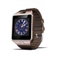 u8 smartwatch sim оптовых-SmartWatch DZ09 Android GT08 U8 A1 Samsung умные часы SIM Интеллектуальные часы мобильного телефона могут записывать состояние сна Умные часы