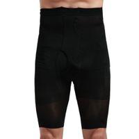 vücut şekillendiren erkekler toptan satış-Erkekler Vücut Şekillendirici Kontrol Ince Karın Korse Yüksek Bel Shapewear Külot İç promosyon düşük fiyat