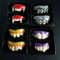 Cos Prop Halloween Prosthesis Vampire Dentures Teeth Zombie Small Tiger Braces