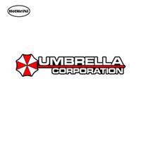 Wholesale umbrella decals resale online - Car Styling Umbrella Corporation Hive Die Cut Logo Resident Evil Vinyl Decal Sticker JDM Car Sticker cm x cm