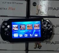 Wholesale hdmi mp4 player resale online - DHL PAP Gameta II Plus GB HDMI Bit Games MP4 MP5 TV Game Consoles Portable Handheld Game Player TV Out Camera E Book PVP Pxp3 PVP GB Boy