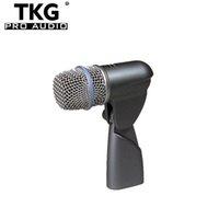 ingrosso batteria mic-2017 best good quality karaoke Performance di palco dinamico per batteria professionale drum mic beta56 beta56a microfono a tamburo