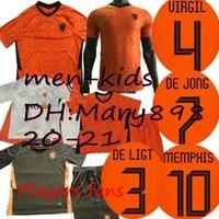 Wholesale netherlands football shirt for sale - Group buy Thai Netherlands home jerseys DE JONG Holland VAN DIJK VIRGIL Netherlands Soccer Jersey Van Basten PROMES MALEN football shirts