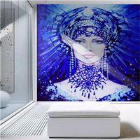 ingrosso carta da parati di bellezze-Carta da parati europea 3d Blu bellezza pittura murale Arte moderna Carta da parati murali sfondi per soggiorno Camera da letto pareti carta da parati miglioramento domestico