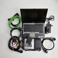 ingrosso benz sd connettersi-MB Star C5 Sd Connect C5 auto camion Strumento diagnostico con funzione wireless WIFI con V05.2019 SSD Super Multi-lingue nel portatile D630