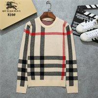 nuevos suéteres de porcelana al por mayor-Nuevo patrón estilo masculino otoño e invierno hombre tejer mangas largas hombres suéter exquisito jersey