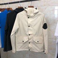 chaqueta de moda asiática de los hombres al por mayor-2019 primavera otoño nueva moda para hombre MONCL diseñador de lujo chaqueta con capucha tamaño asiático ~ tops diseñador chaquetas de alta calidad para hombres