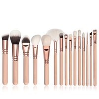 Wholesale travel makeup brush kit resale online - Portable makeup brushes goat hair makeup brush kit for personal travel work